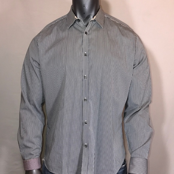 Ted Baker London Other - Ted baker striped long sleeve button up size 5
